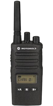 Motorola XT460 two-way radios for security forces