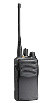 Vertex VX-451 two-way radios for security forces
