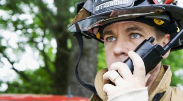 Two way radios for security forces