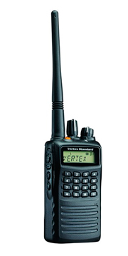 vertex VX-459 two-way radios for security forces