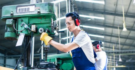 ear defenders for manufacturing
