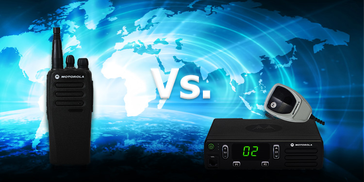 Two-way radios: Portable vs Mobile