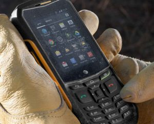What is a rugged mobile phone?