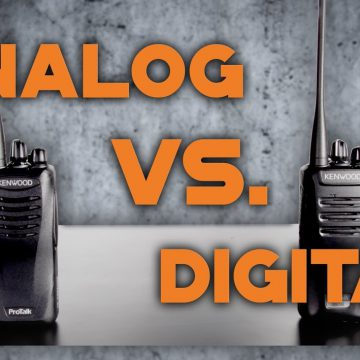 Analogue v Digital Two-Way Radios