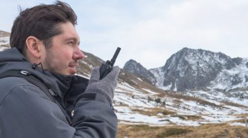 What range does my two-way radio need
