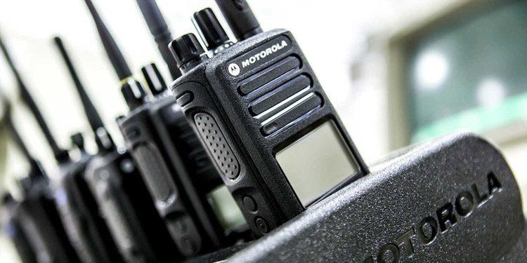 motorola two way radio chargers